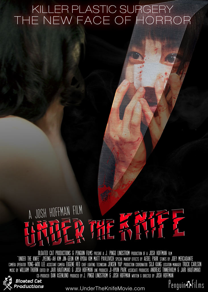 Under the Knife - Poster art